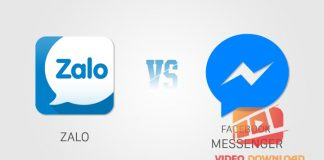 Zalo vs Facebook messenger