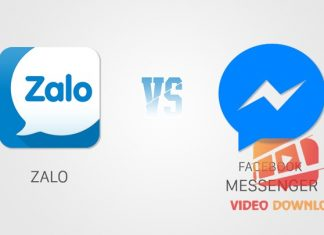 Zalo vs Facebook messenger