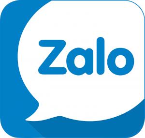 Hình 1 - Logo Zalo