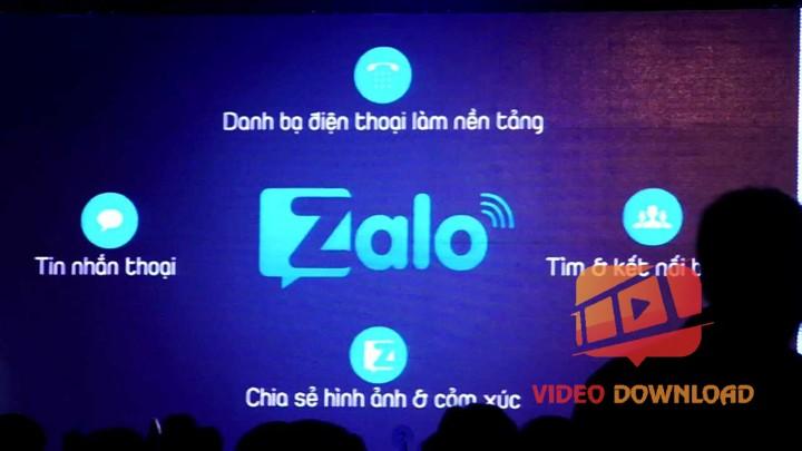 Hình 2: Tính năng của Zalo