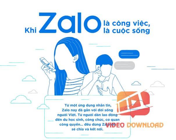 Hình 3- Zalo doanh nghiệp kết nối
