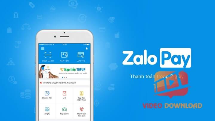 Hình 1: Zalo Pay - Chuyển tiền trong 2s