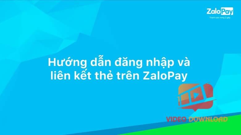 Hình 2: Liên kết ZaloPay với tài khoản ngân hàng