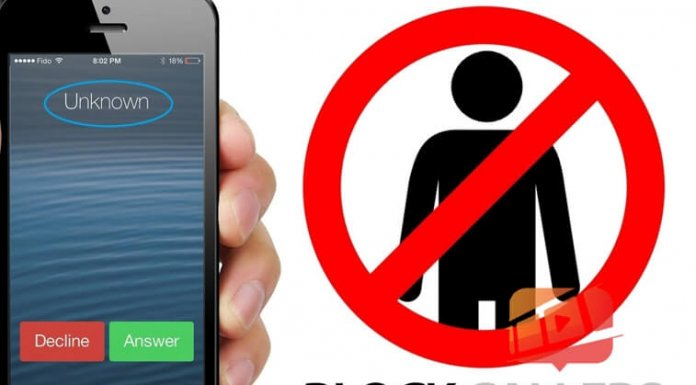 Hình 1: iPhone Block Callers