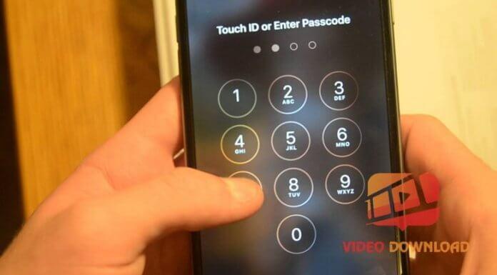 Hình 1: Điện thoại iPhone quên mật khẩu
