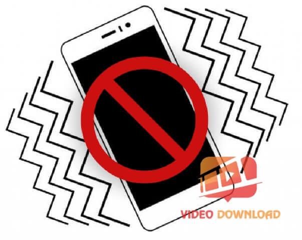 Hình 1: iPhone không rung