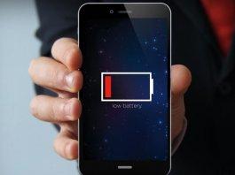 Hình 1: iPhone Low Battery