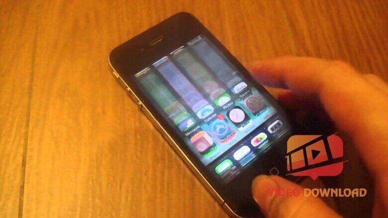 Hình 2: Điện thoại iPhone bị nháy màn hình