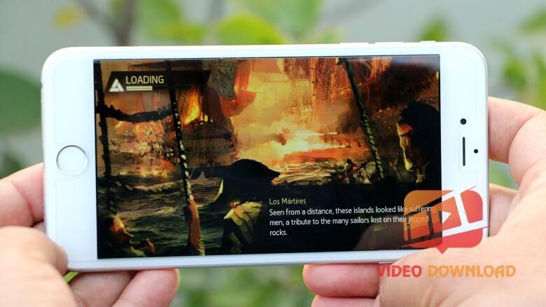 Hình 2: iPhone 6 chơi game nóng máy