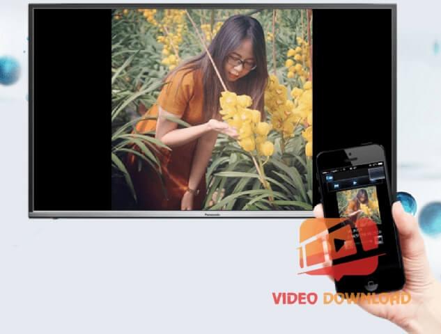 Hình 2: Kết nối iPhone với Tivi