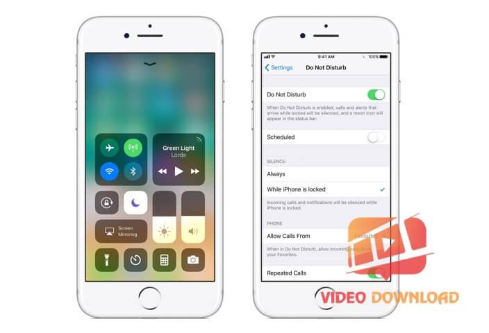 Hình 3: Apple Do Not Disturb