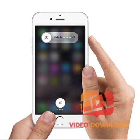 Hình 3: Khởi động lại điện thoại
