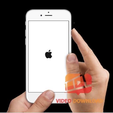 Hình 3: Soft Reset Khởi động lại iPhone