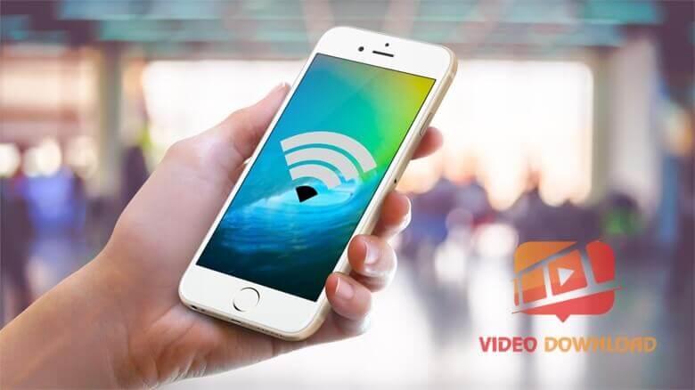 Hình 5: iPhone bắt wifi kém