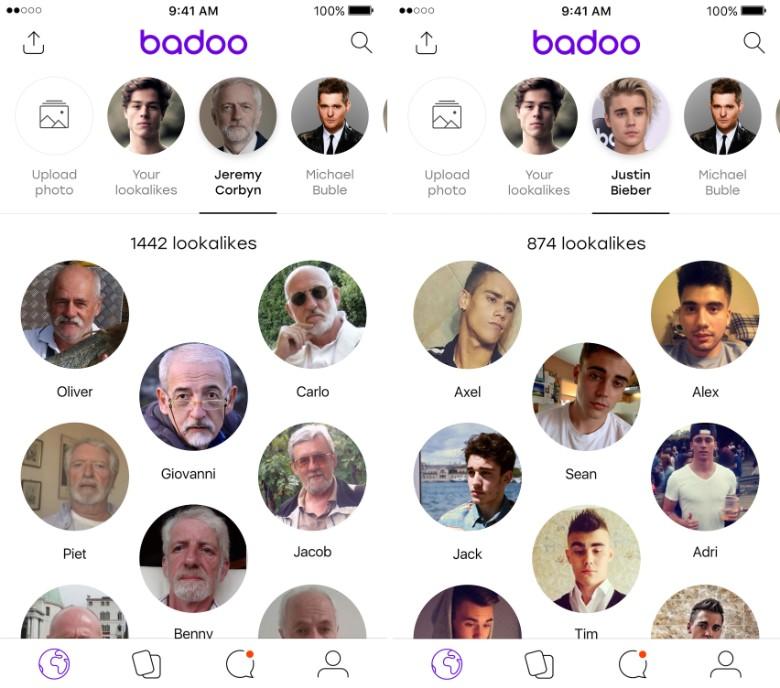 Hình 2: Badoo