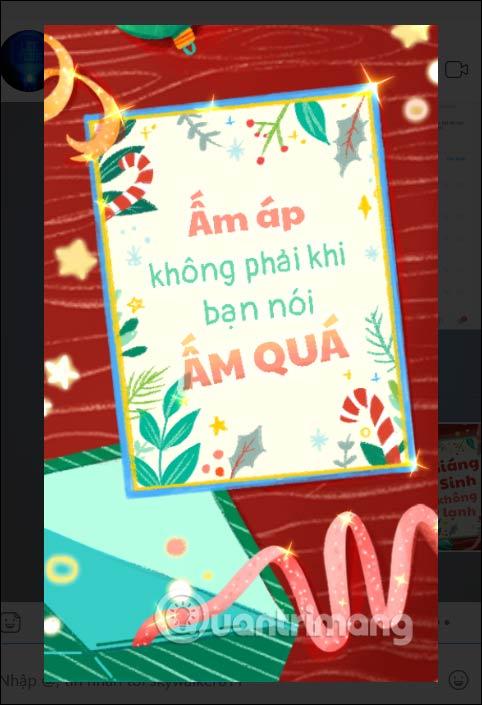 Hiển thị sticker
