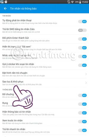 Cách sao lưu và khôi phục tin nhắn Zalo trên điện thoại