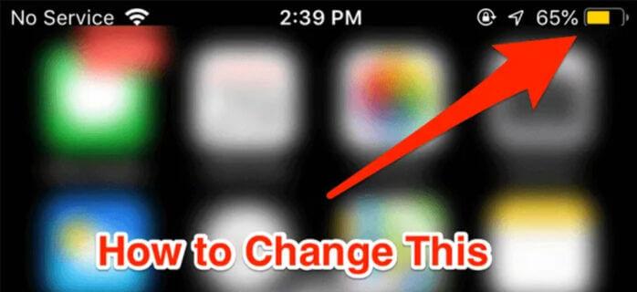 Tại sao pin iPhone bị vàng?